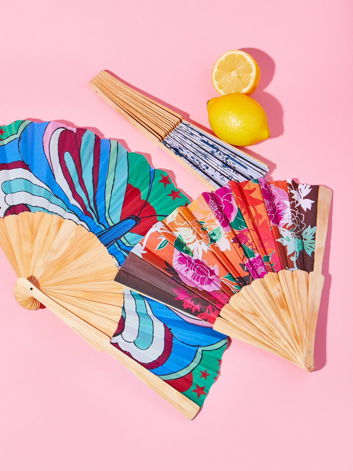 Festival printed fans