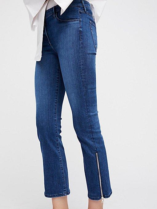 Product Image: Midway Gusset Zipper Crop Jeans