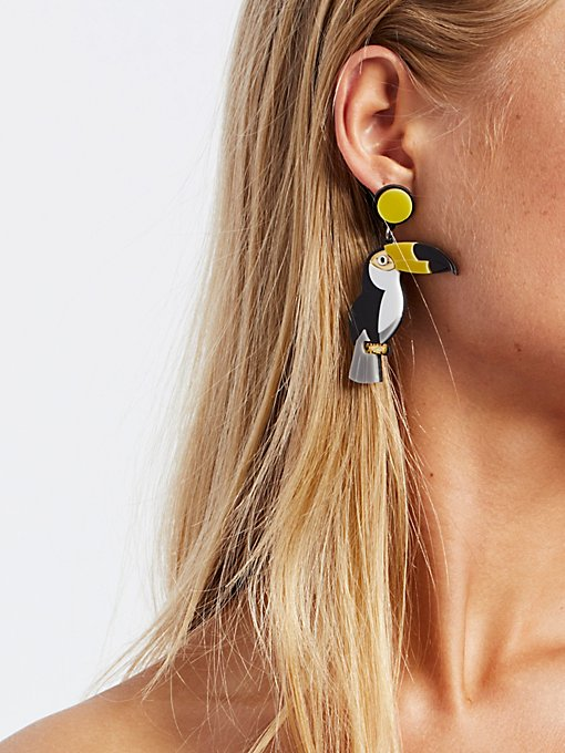 Product Image: Bird of Paradise Earrings