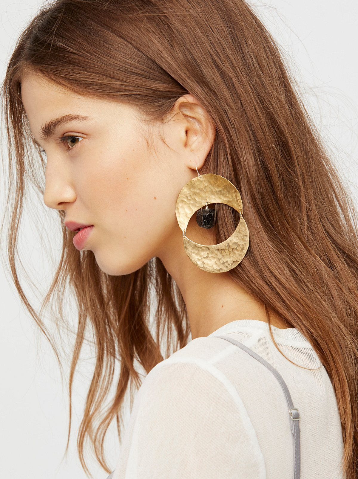 Rising Sun Turquoise Earrings