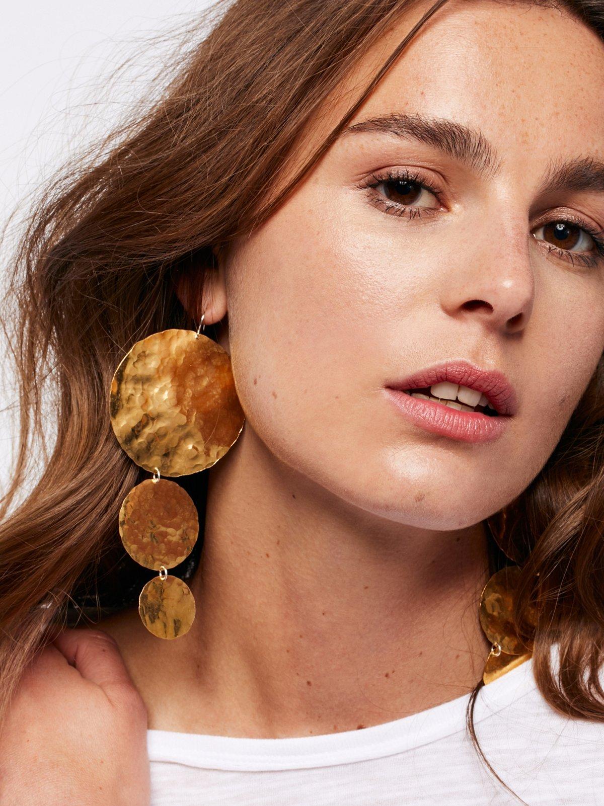 Solar Eclipse Earrings