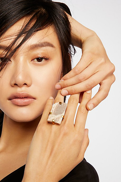 Product Image: Large Raw Stone Ring