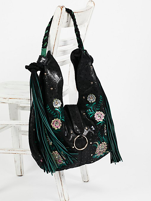 Product Image: Monarch Embroidered Hobo