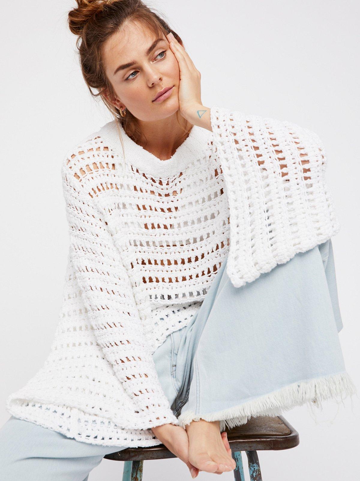 Caught Up Crochet Top