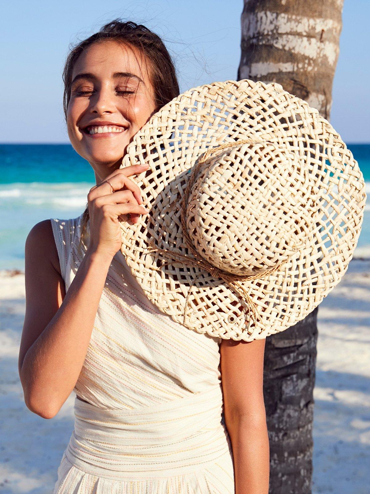 Beach Bum Straw Boater