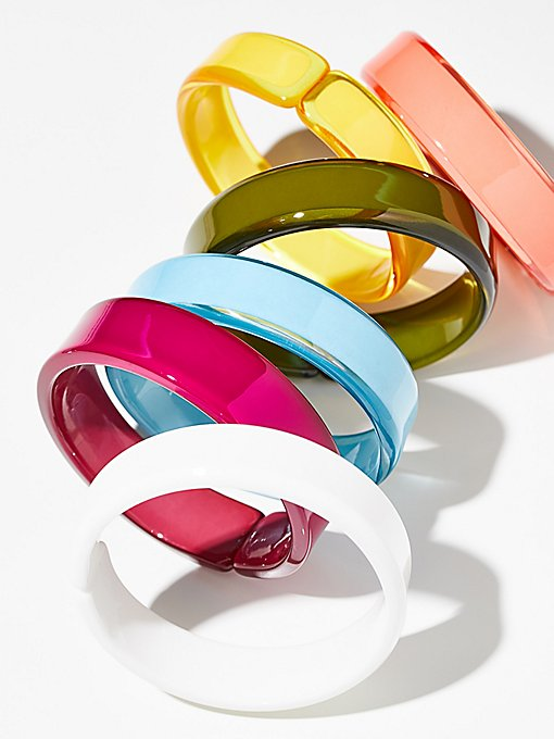Product Image: Lucite Color Bangle