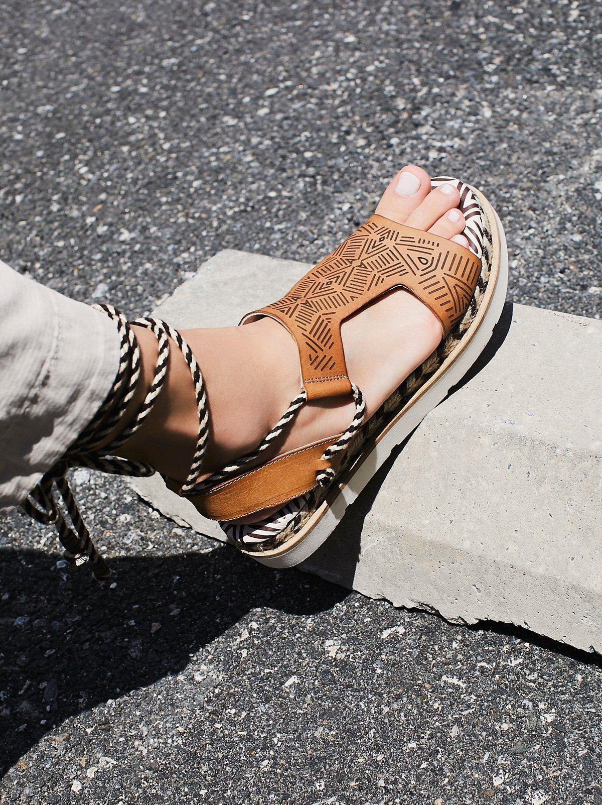 Mursi Wrap Sandal