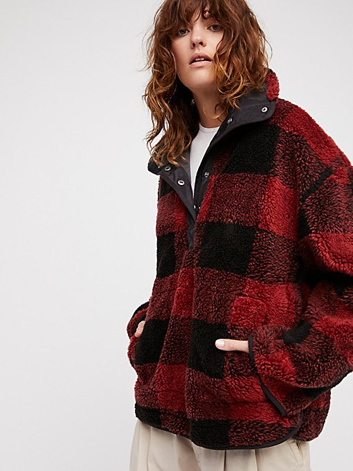 Product Image: Oh So Cozy Plaid Pullover