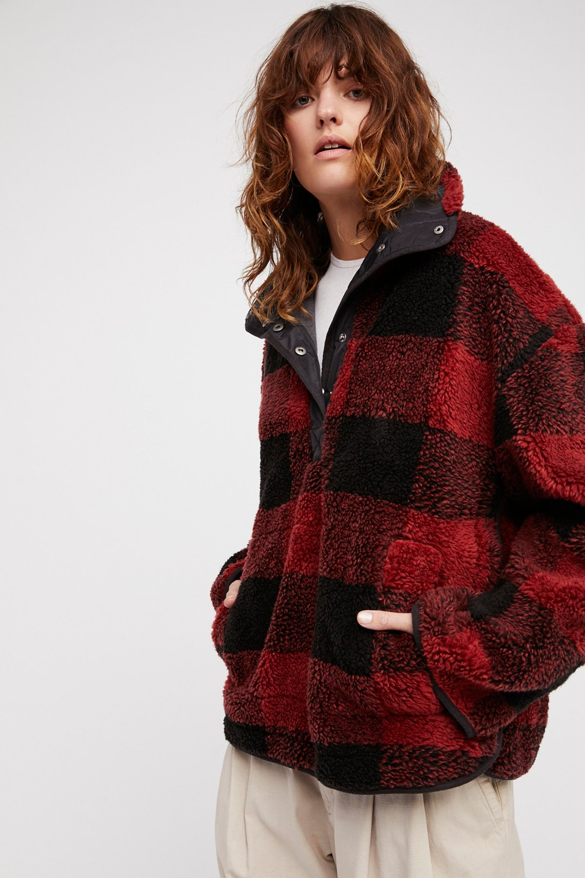 Oh So Cozy Plaid Pullover