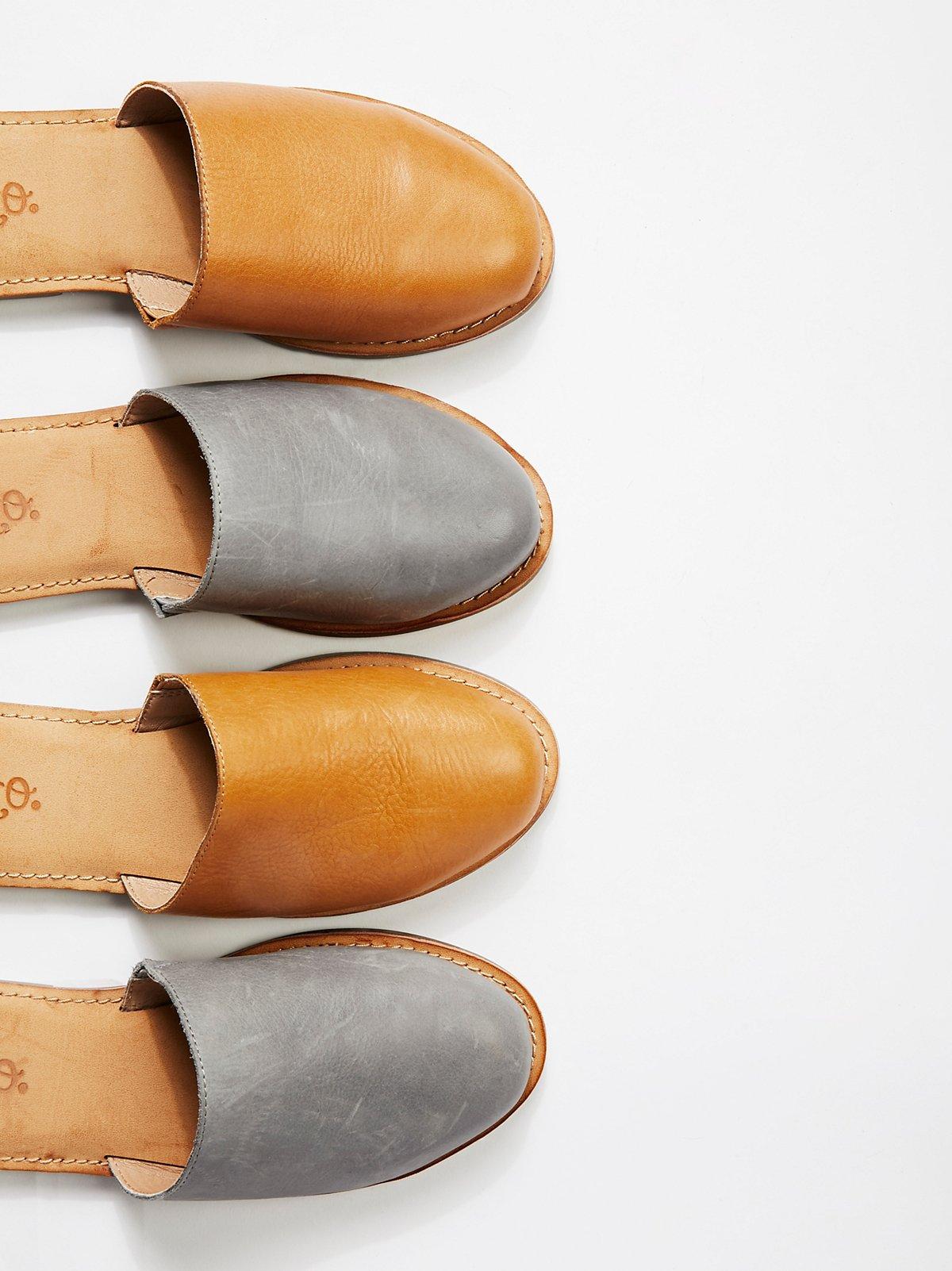 Hallie平底鞋