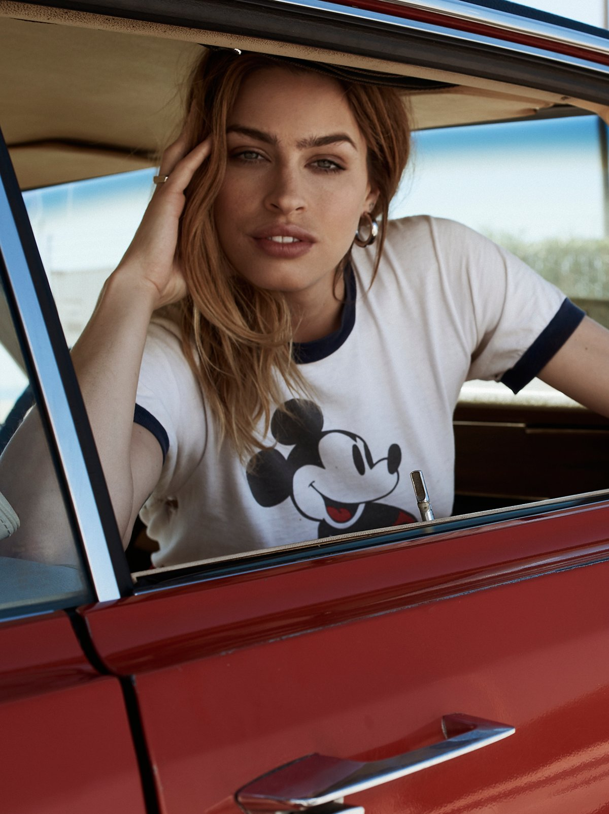 Vintage 1970s Mickey Mouse Ringer Tee
