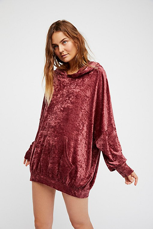 Product Image: Slouchy Velour Hoodie