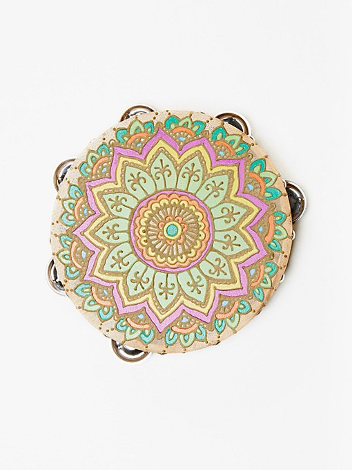 Product Image: Henna Painted Tambourine