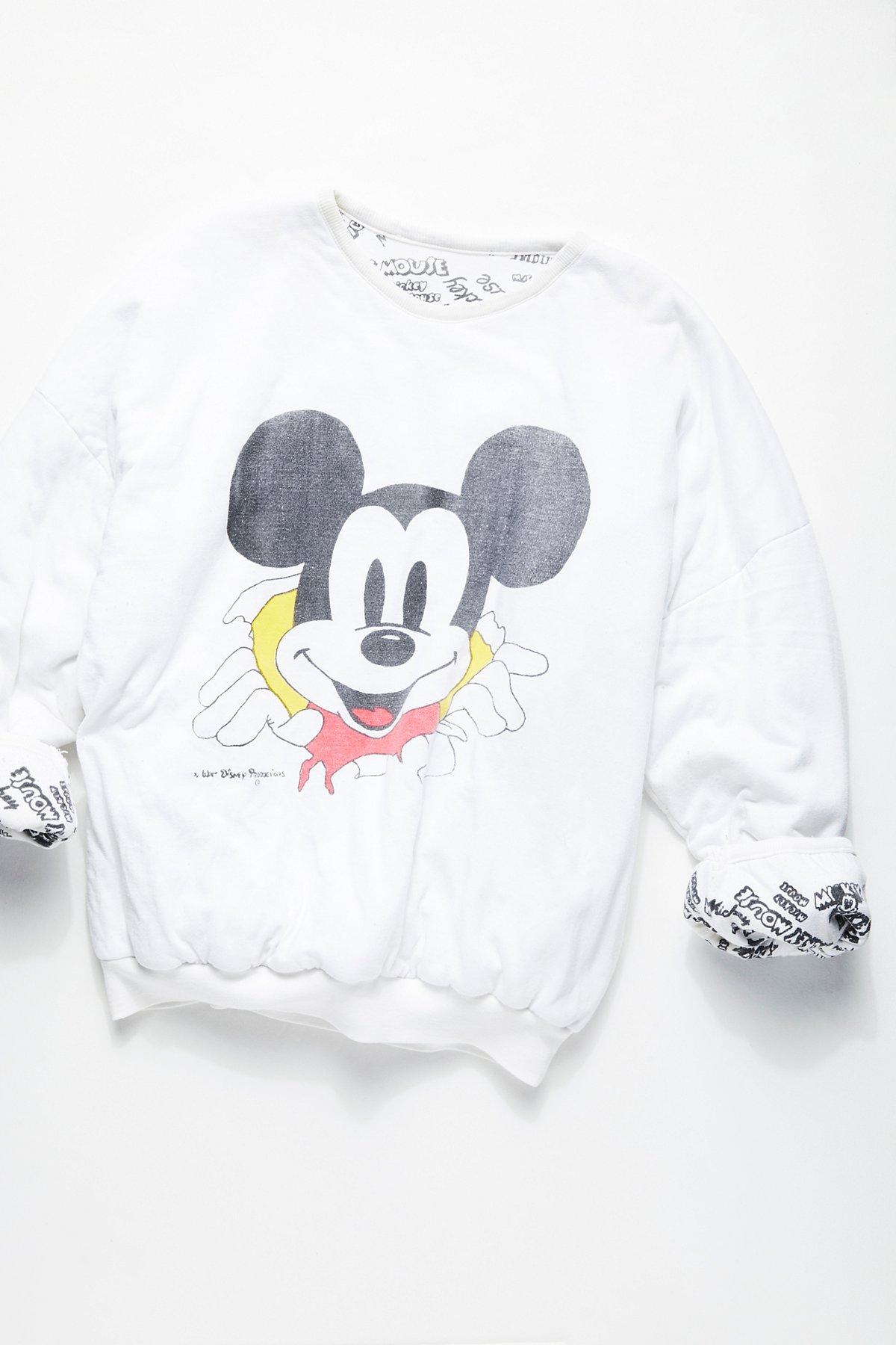 Vintage 1980s Mickey Mouse Sweatshirt