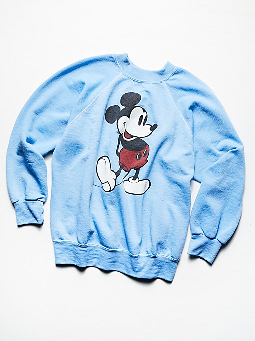 Product Image: Vintage 1980s Mickey Mouse Sweatshirt