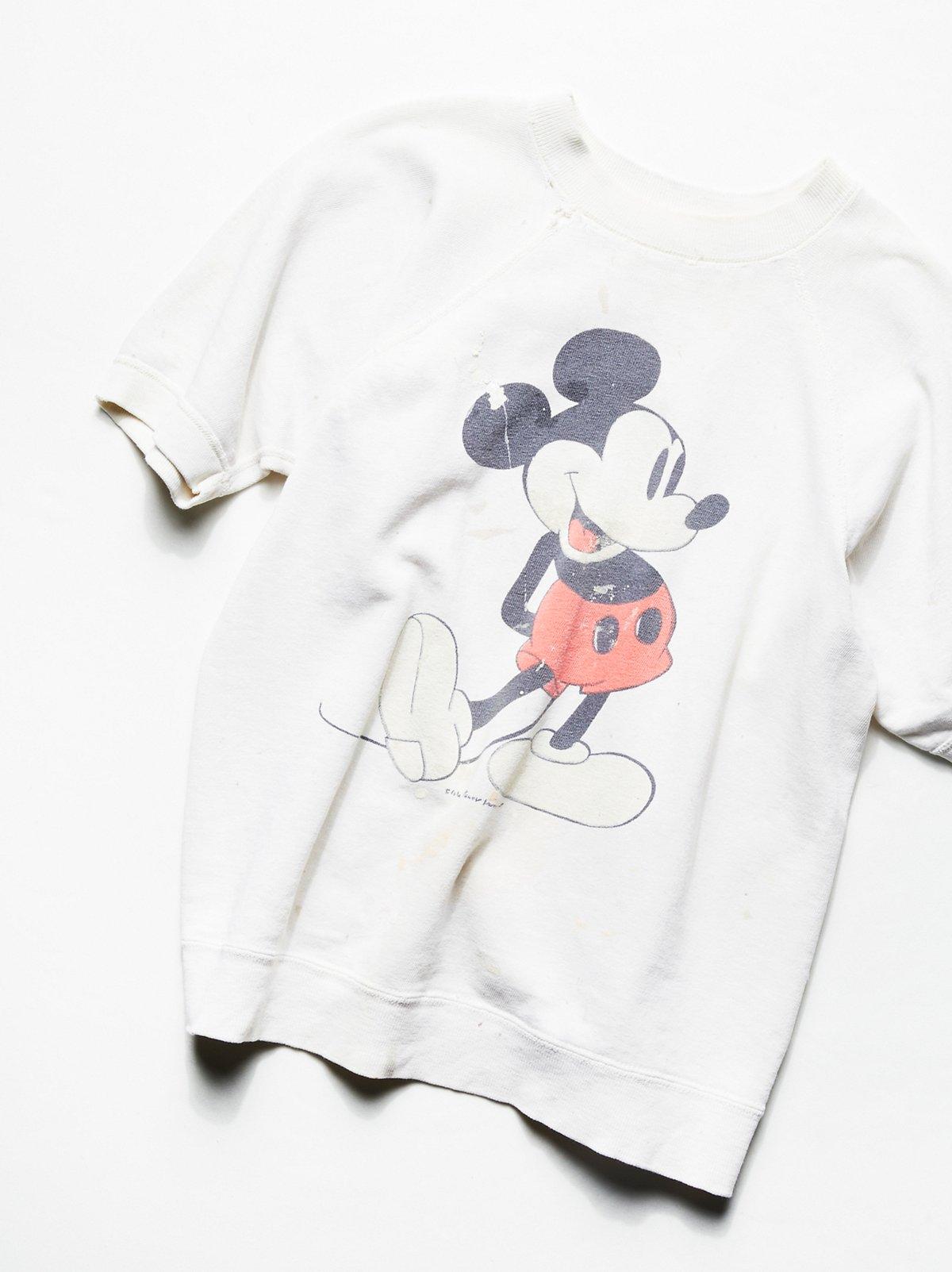 Vintage 1980s Mickey Mouse Sweatshirt Tee