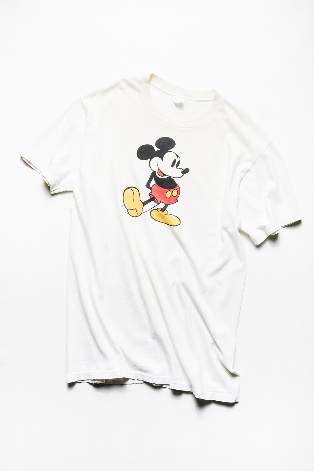 Vintage 1990s Oversized Mickey Mouse Tee