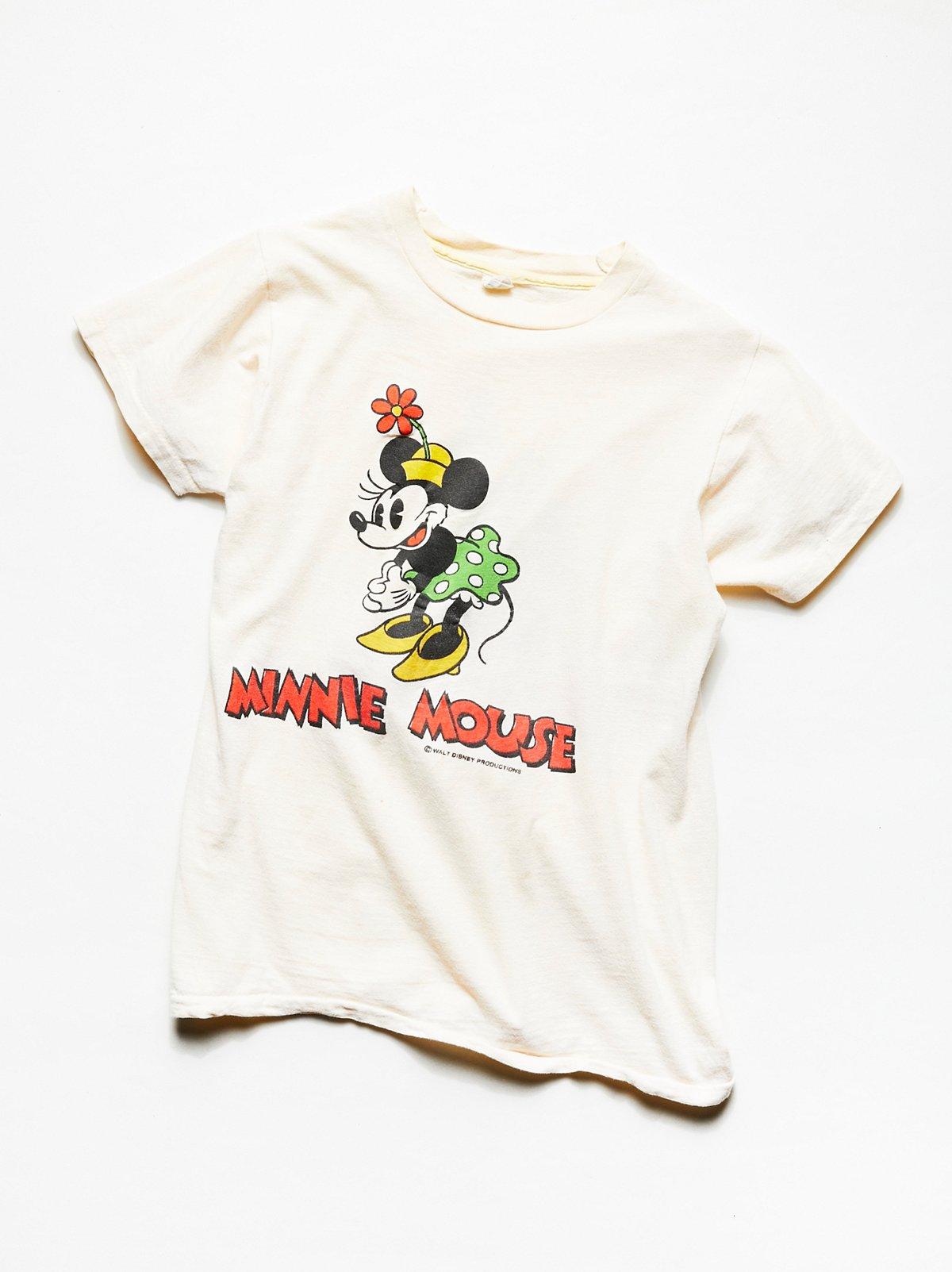 Vintage 1980s Minnie Mouse Tee