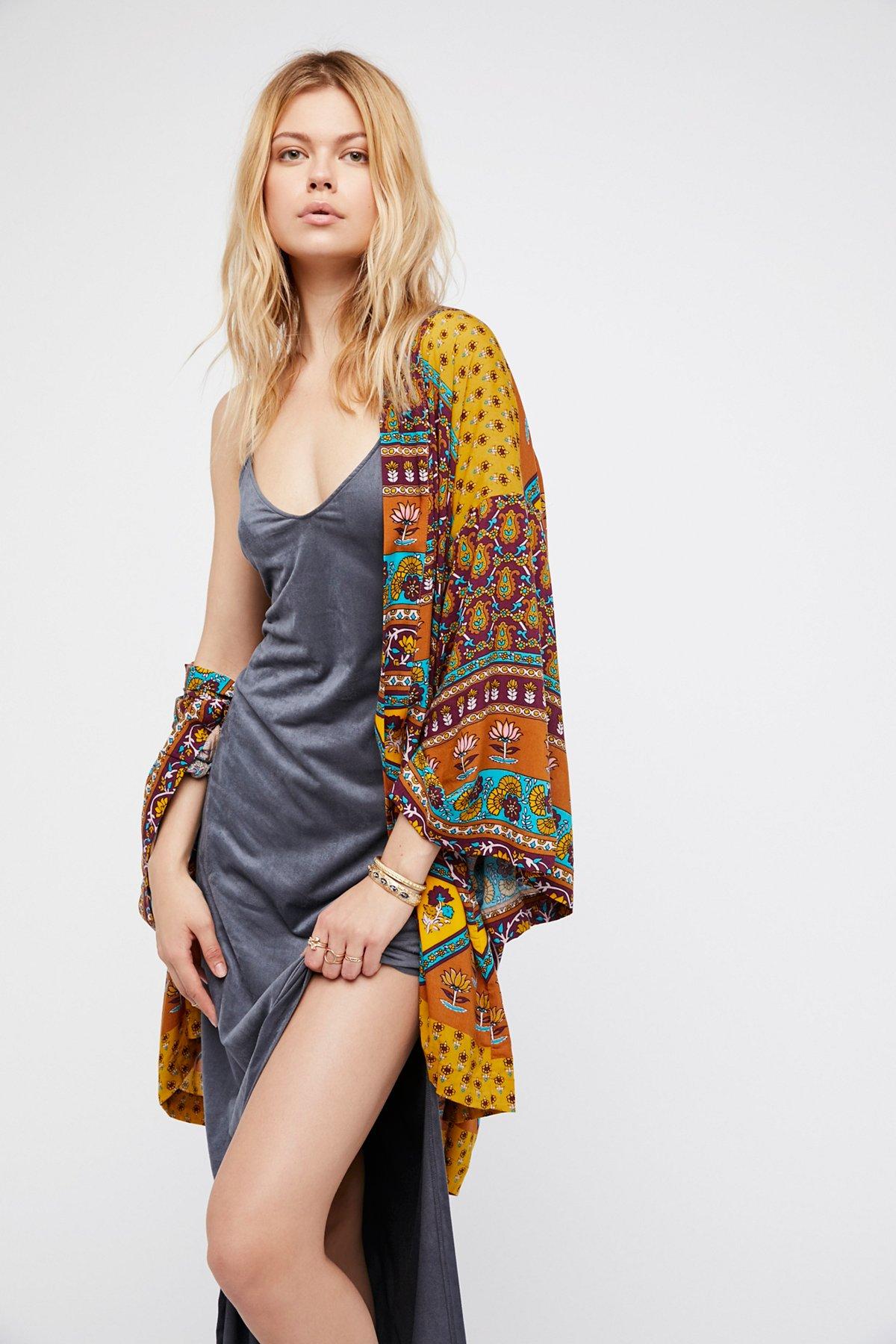 Hitch Hiker Kimono