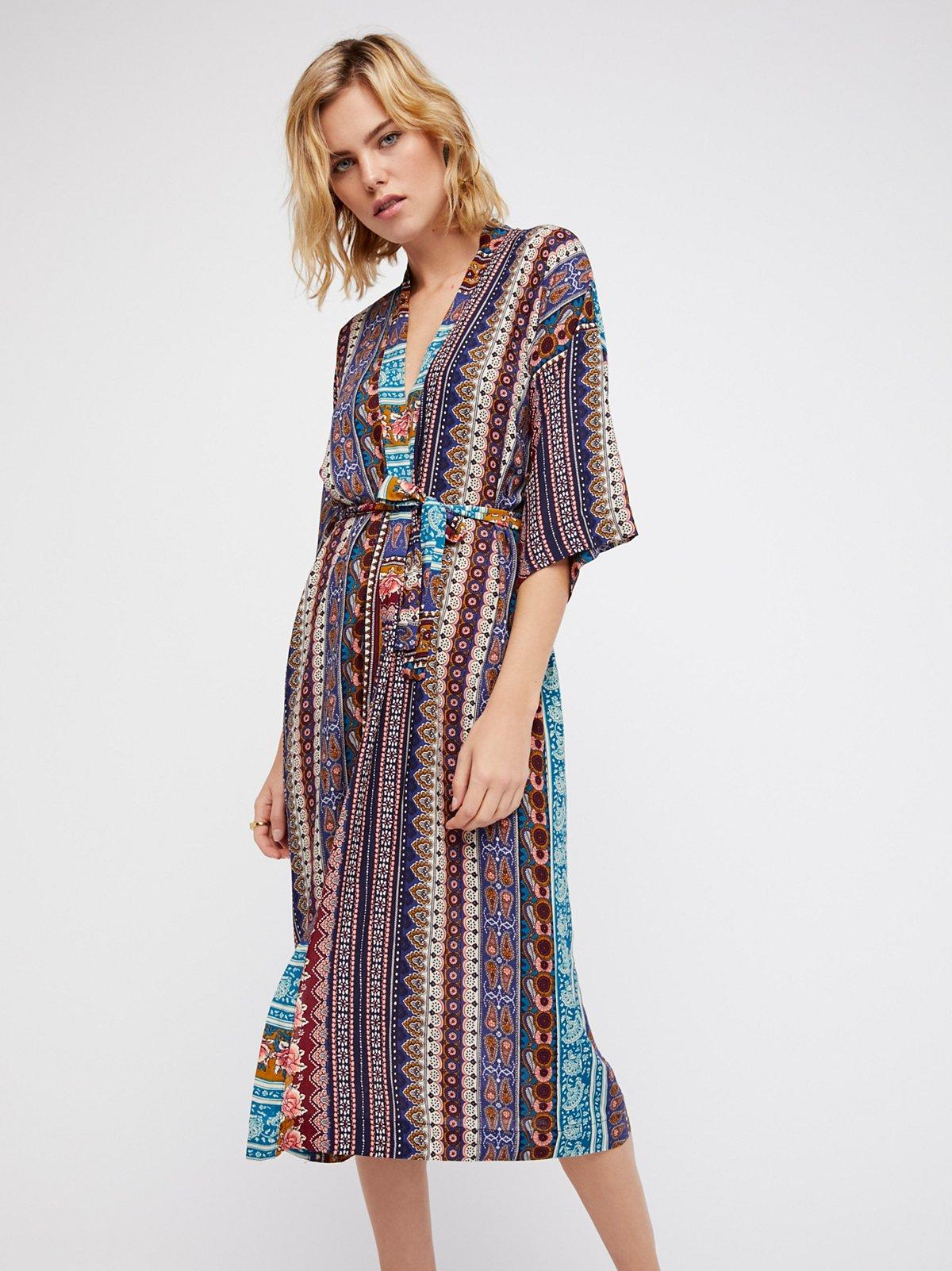 Jane Printed Robe