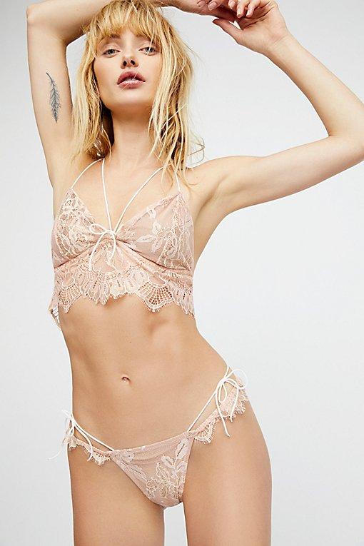 Product Image: Esme Foil Lace Thong