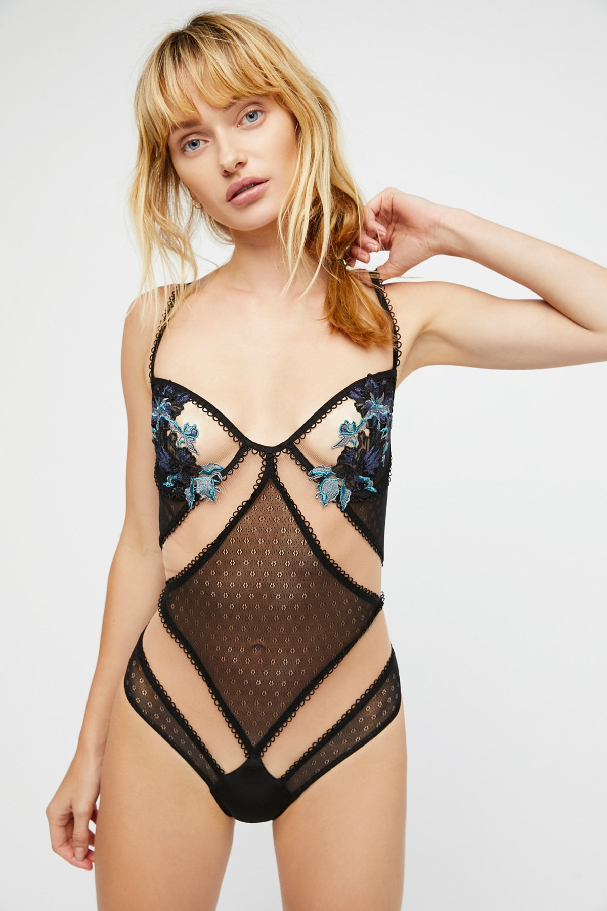 Florette Applique Bodysuit