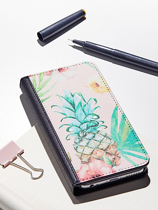 Product Image: Printed Leather Wallet Case