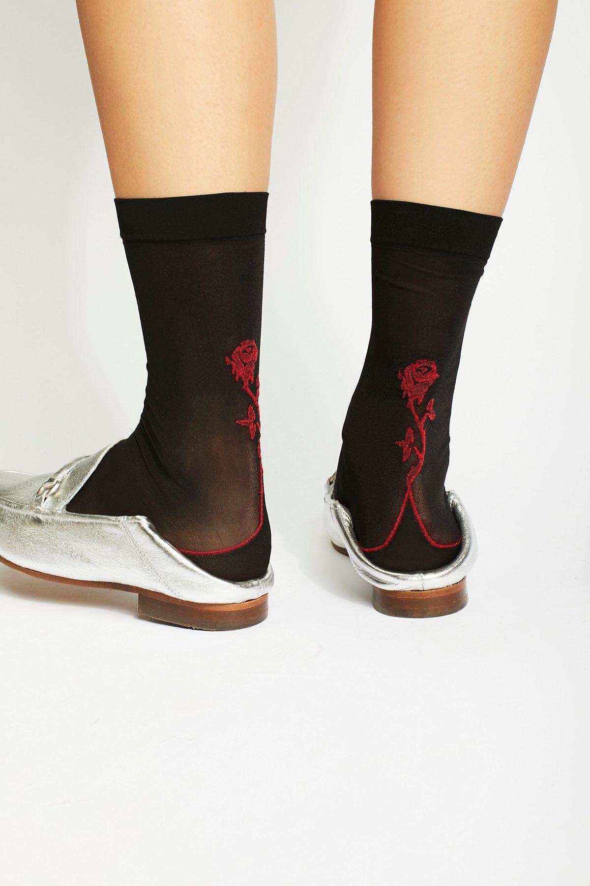 Manhattan Rose Sock