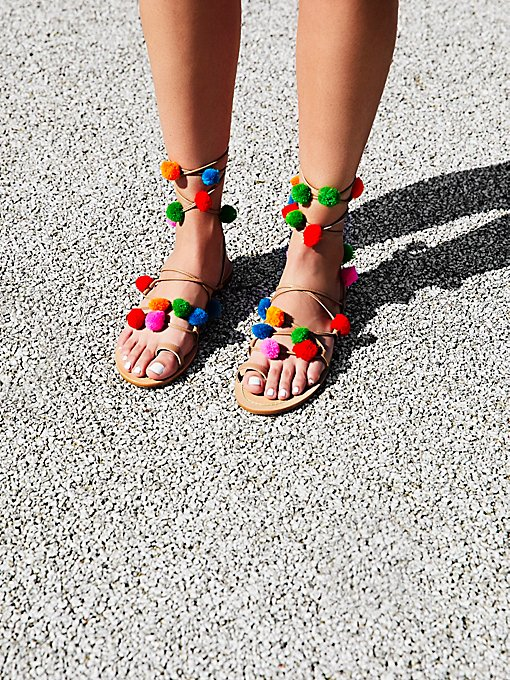 Product Image: Raining Pom Pom Sandal