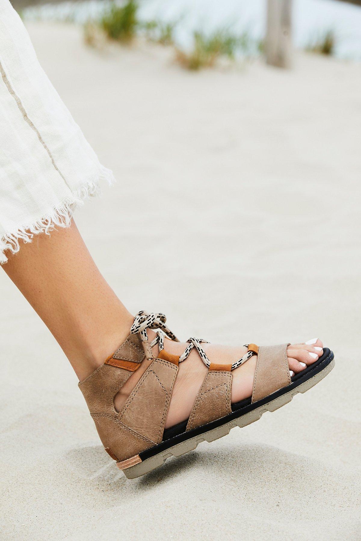 Torpeda系带凉鞋