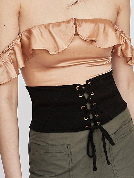 Product Image: Kiersten Lace Up Corset Belt