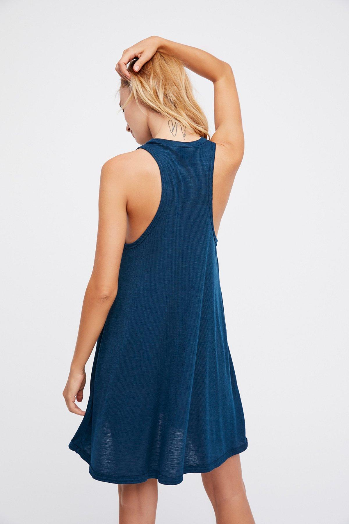 Mock Me Mini Dress