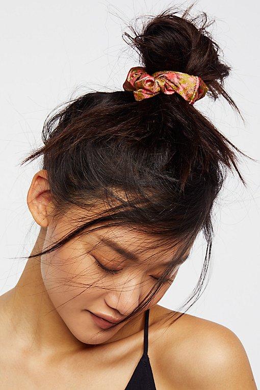 Product Image: Printed Velvet Scrunchie