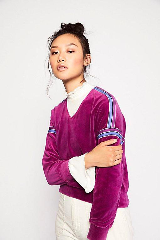 Product Image: Vintage 1980s Velour Sweatshirt