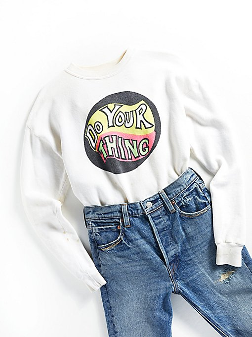 Product Image: Vintage 1970s Graphic Sweatshirt