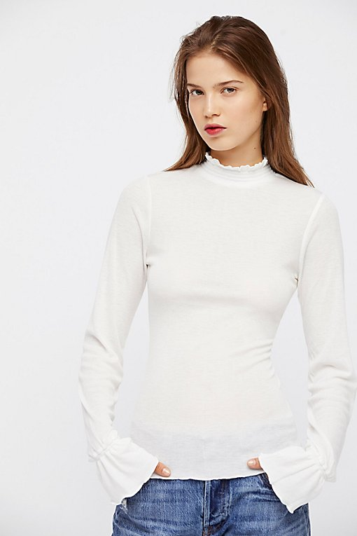 Product Image: Out Of Sight Mock Neck Top