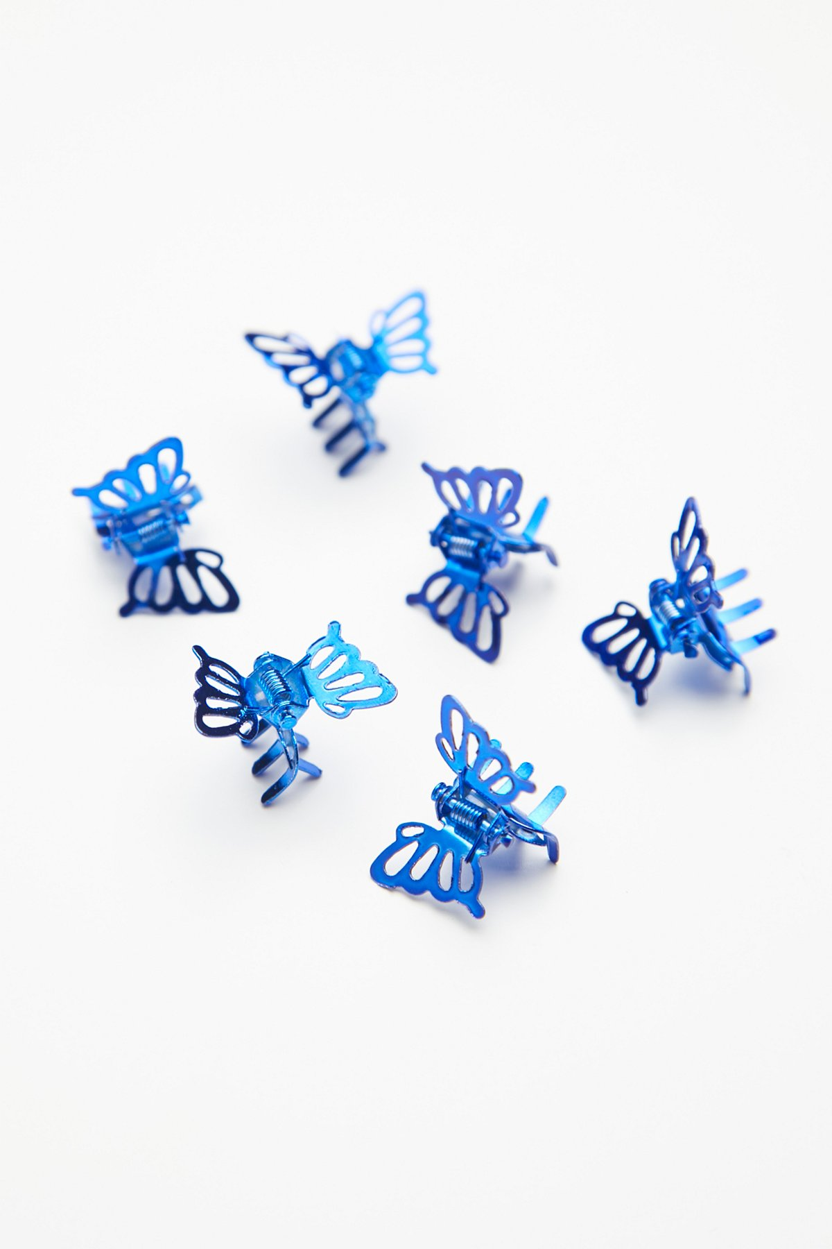 Bright Butterfly Clip 6-Pack