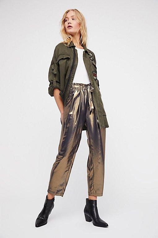 Product Image: 金属感哈伦裤