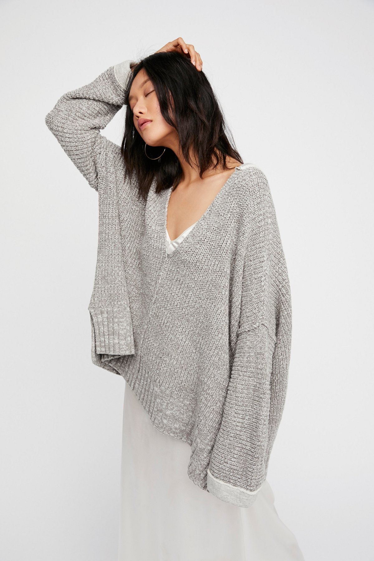 Take Me Over V-Neck Sweater