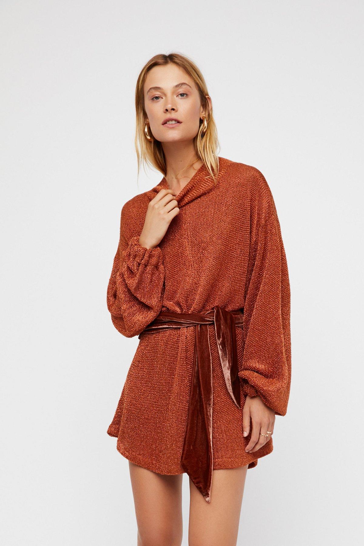 Fete毛线连衣裙