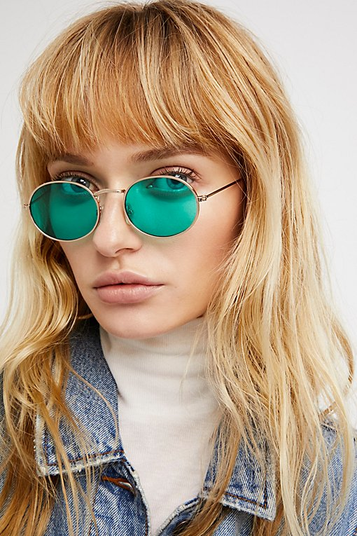 Product Image: Got A Crush Oval Sunnies