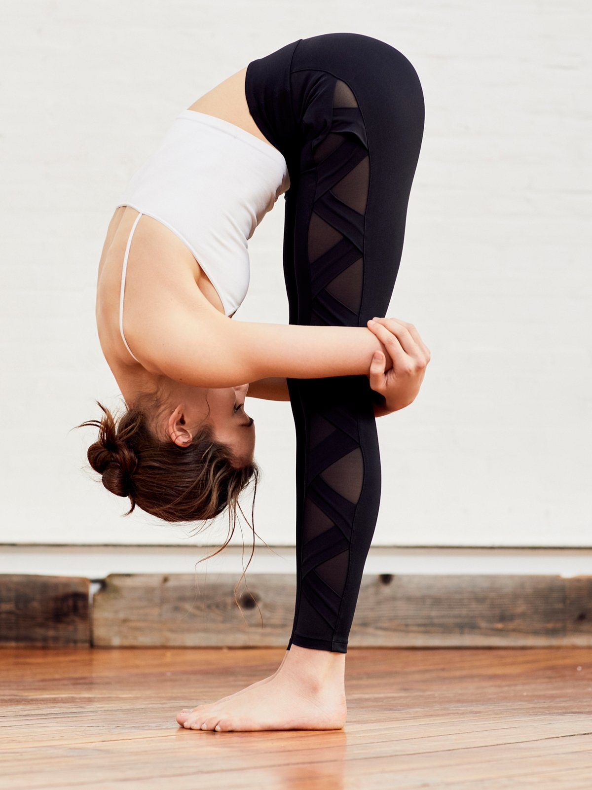 Active Side Mesh Legging