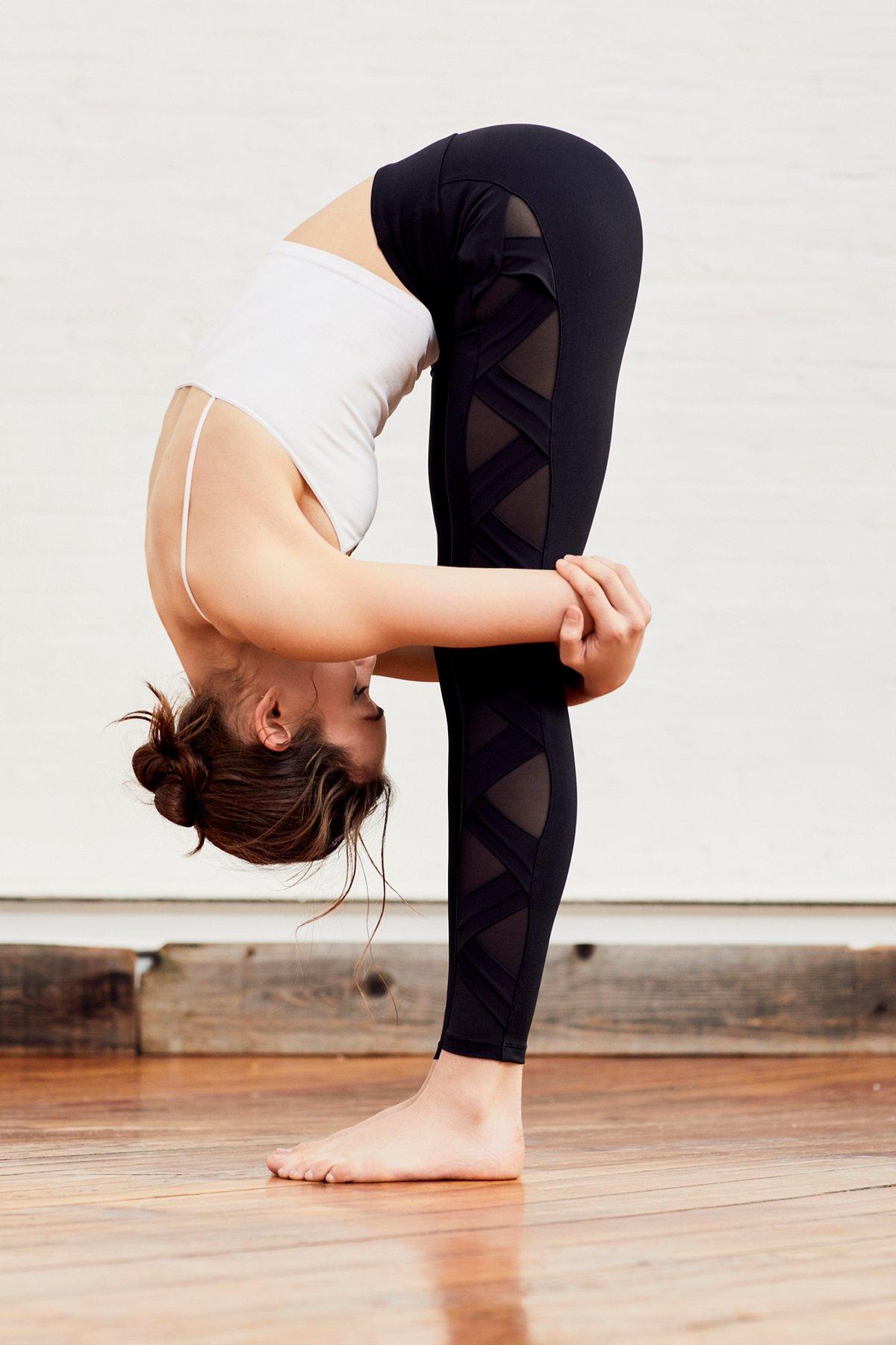 Active Side Mesh Legging