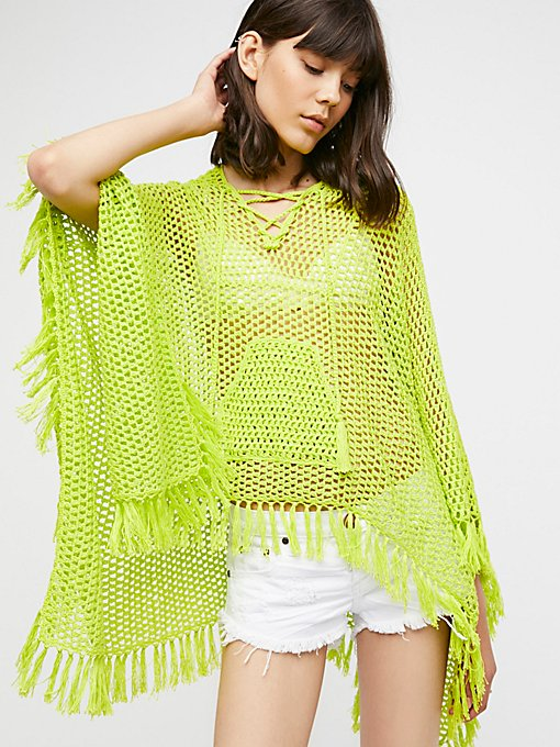 Product Image: Summer Breeze Hooded Poncho