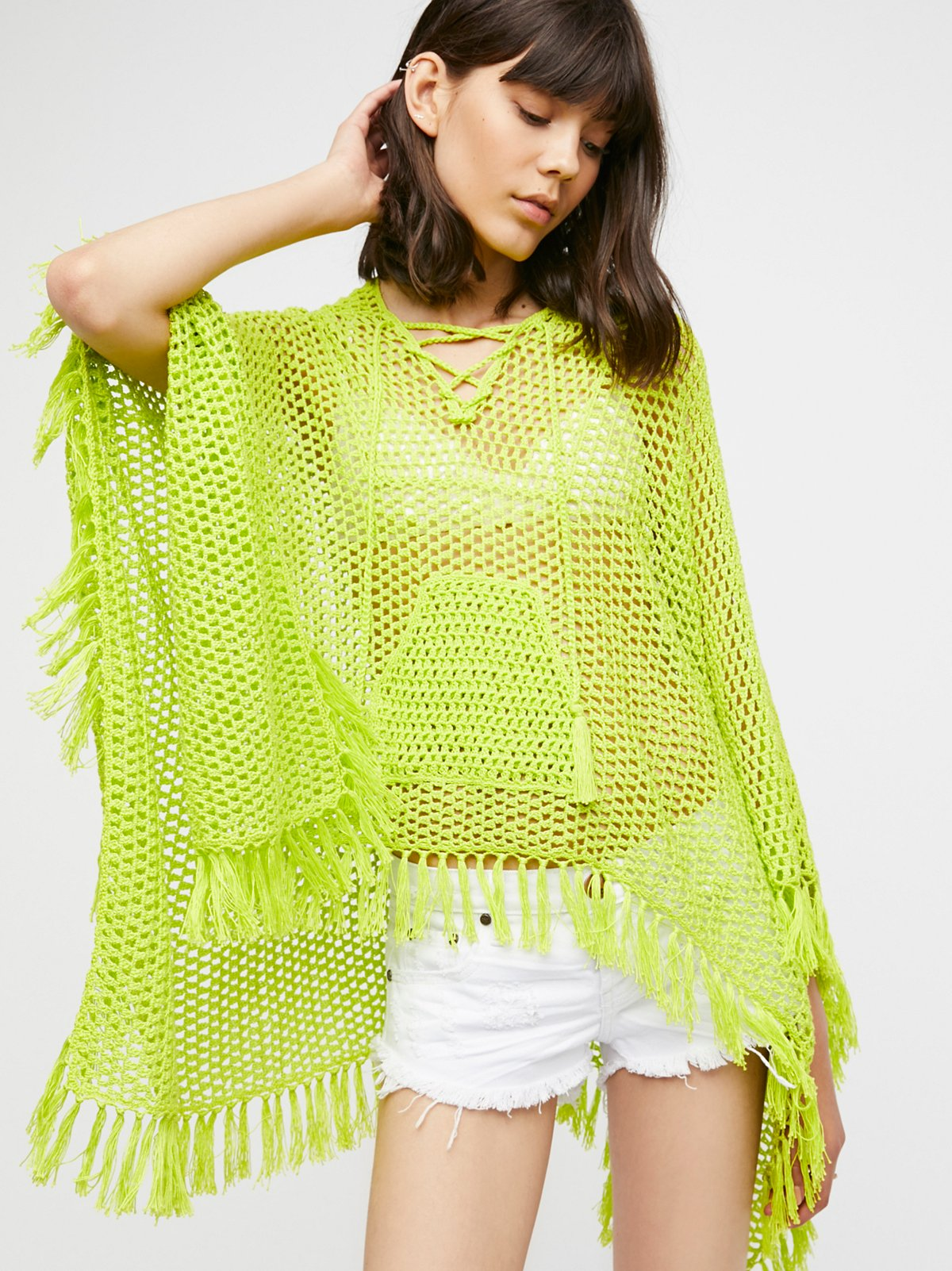 Summer Breeze Hooded Poncho
