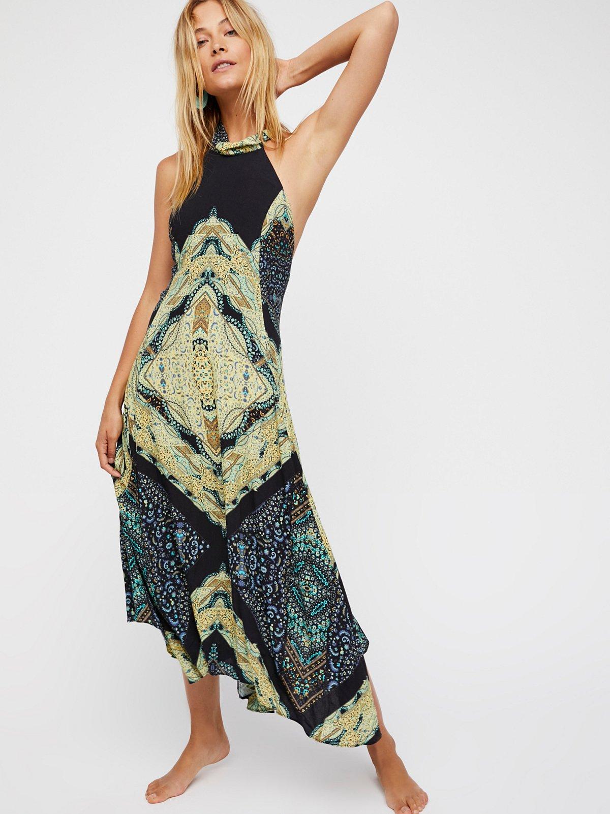 Going My Way Midi Dress