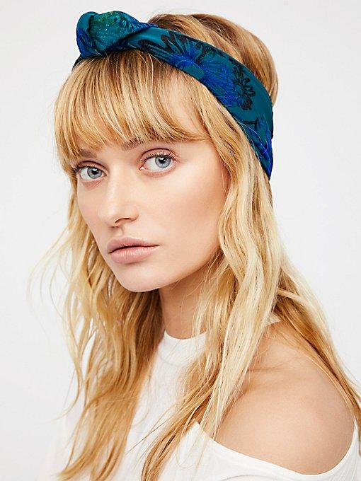 Product Image: Printed Velvet Turban