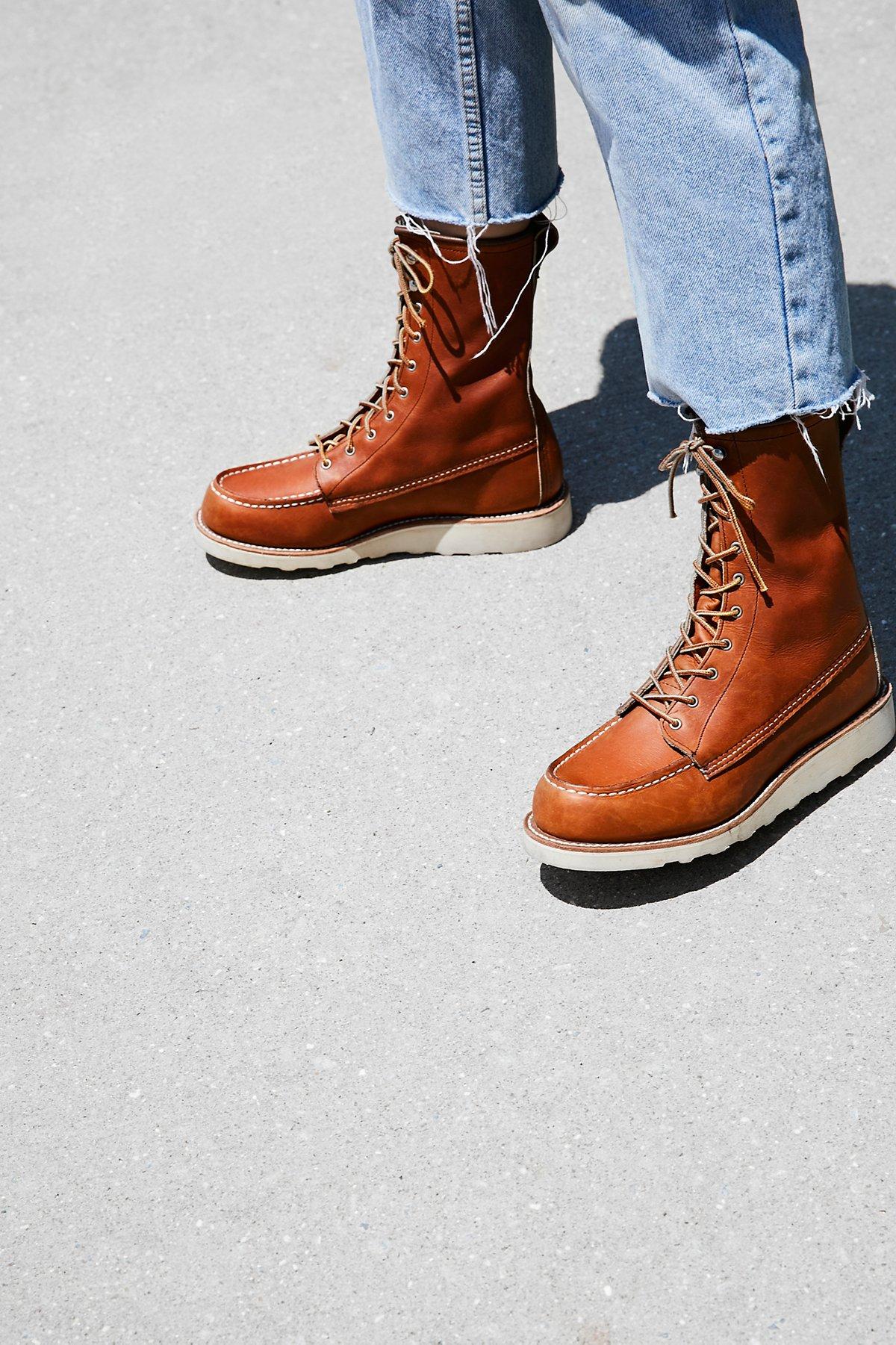 Red Wing经典莫卡辛靴