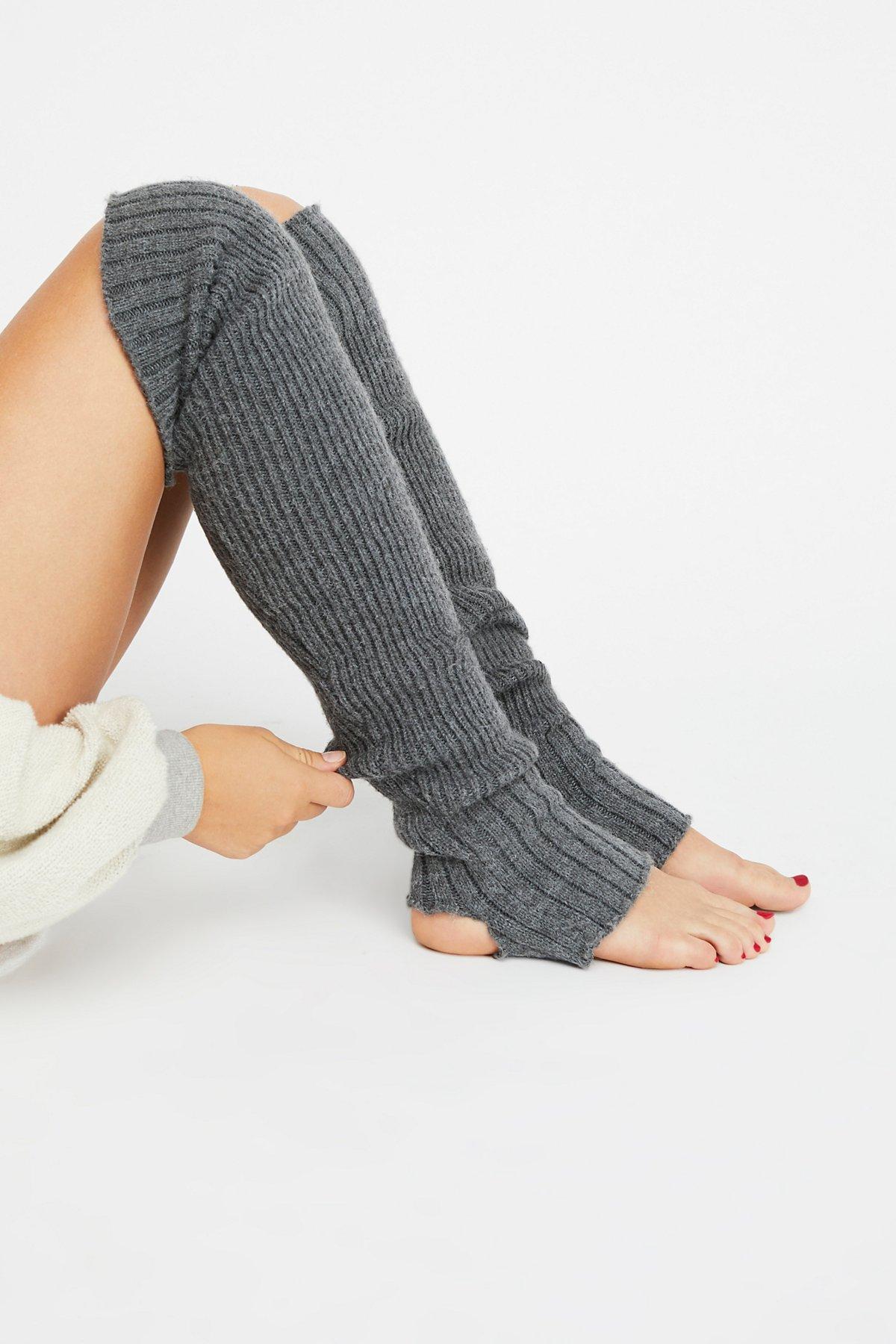 Battu脚蹬暖腿袜