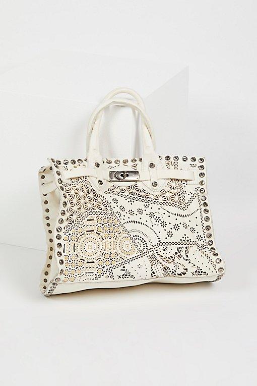 Product Image: Alessandra Leather Satchel